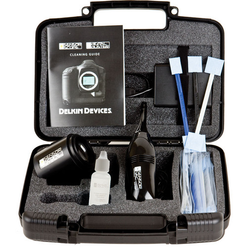 Delkin Sensor Scope Sensor Cleaning System Kit Pasco