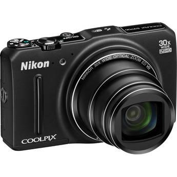 Nikon s9700 black